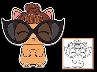 It Kitty Series 3 Wave 2 Lol Surprise Doll Pets Lol Surprise