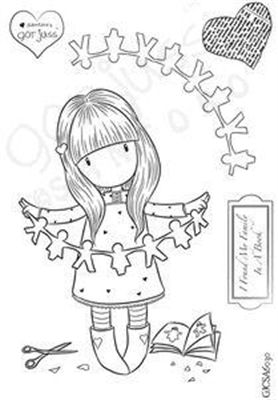 Gorjuss Santoro Stamps clipart and coloring pages - Google Search ... | 400x278