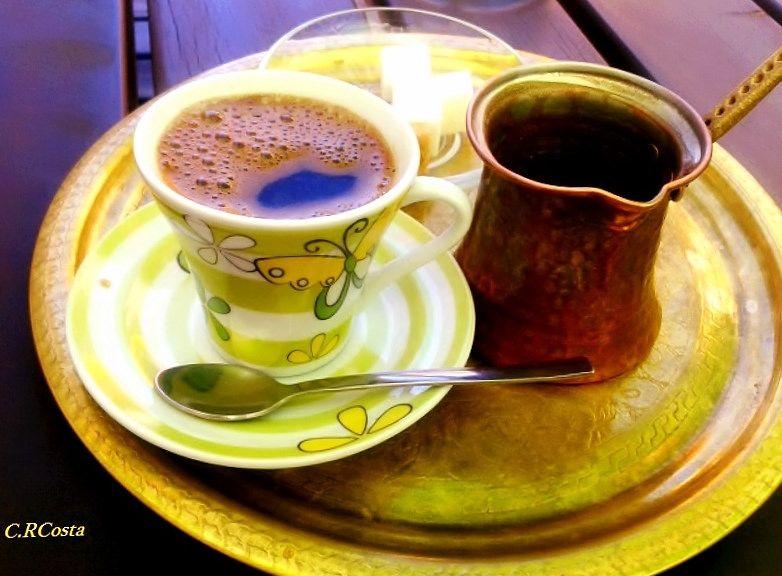 arabian coffee with cardammom served in Constanta Romania photo by C.RCosta