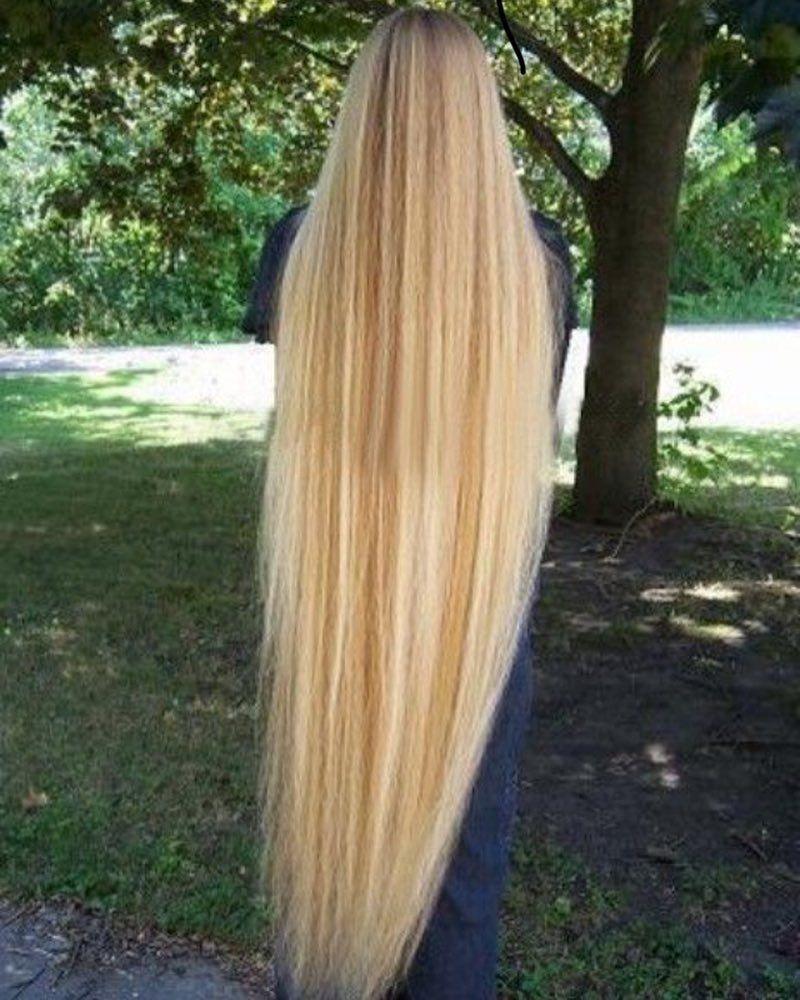 Jjjlonghair Long Blonde Hair