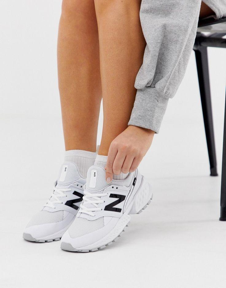 New Balance 574 Sport V2 Komplett weiße Sneaker Weiß