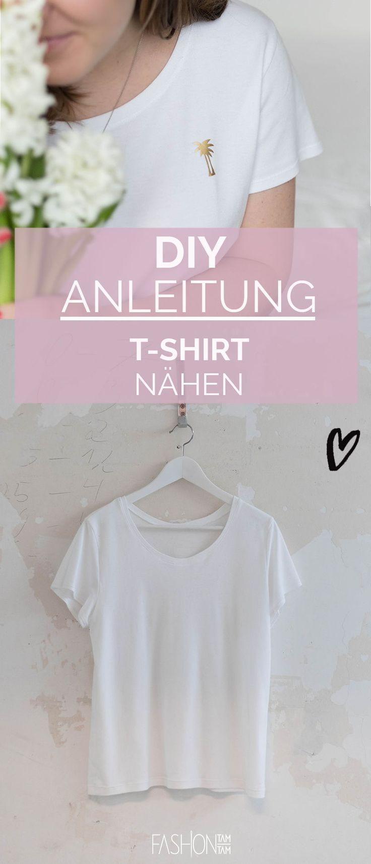 Schnittmuster Damen T-Shirt mit bebildeter Nähanleitung