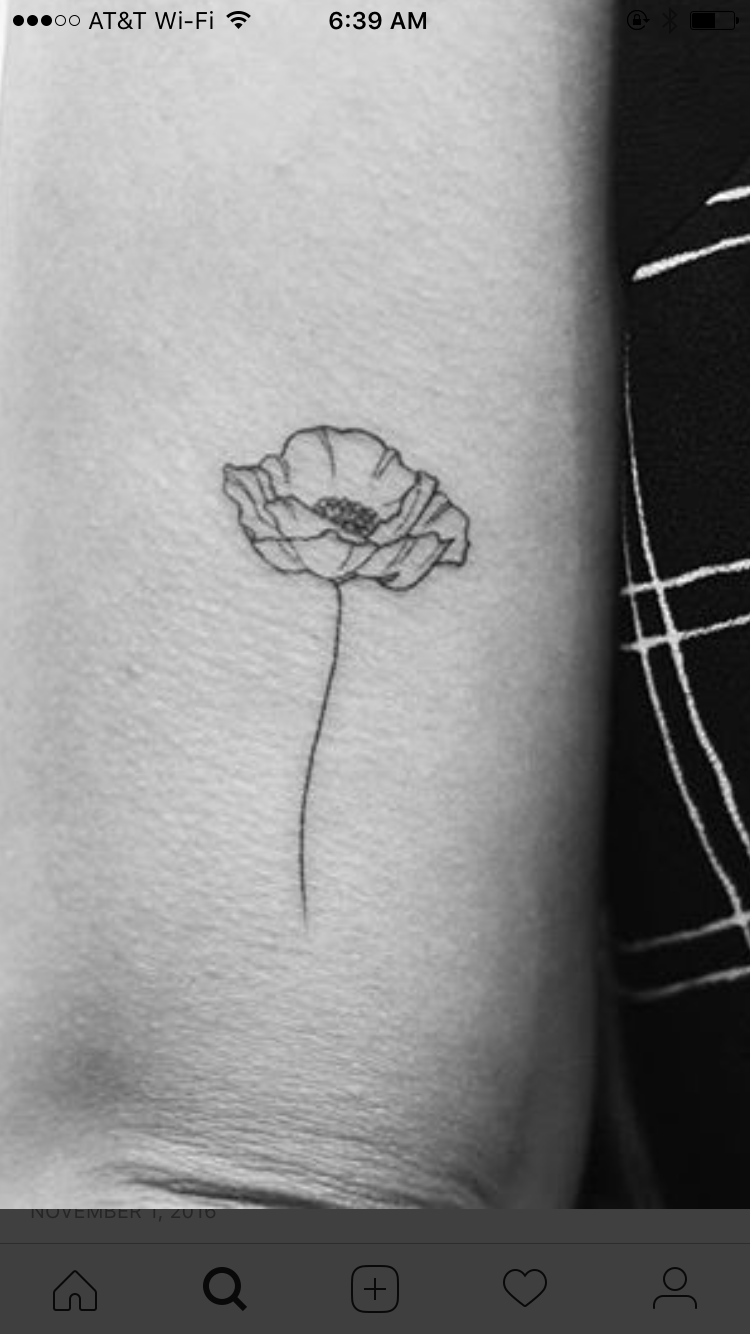 this is the exact poppy flower i want tattoos piercings en 2018 pinterest tatouage. Black Bedroom Furniture Sets. Home Design Ideas