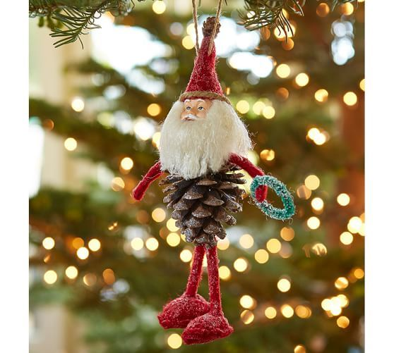 Red Pinecone Elf Ornament Pottery Barn coOkIeS Pinterest