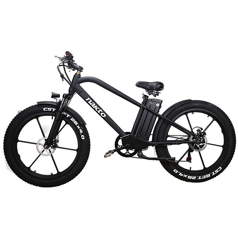 Hrtc 26inch E Bike 48v500w Electric Mountain Bicycle Hybrid Pas Off Road Snow Bike 26inch E Bike 48v500w Electric Mountian Bike Electric Mountain Bike Ebike