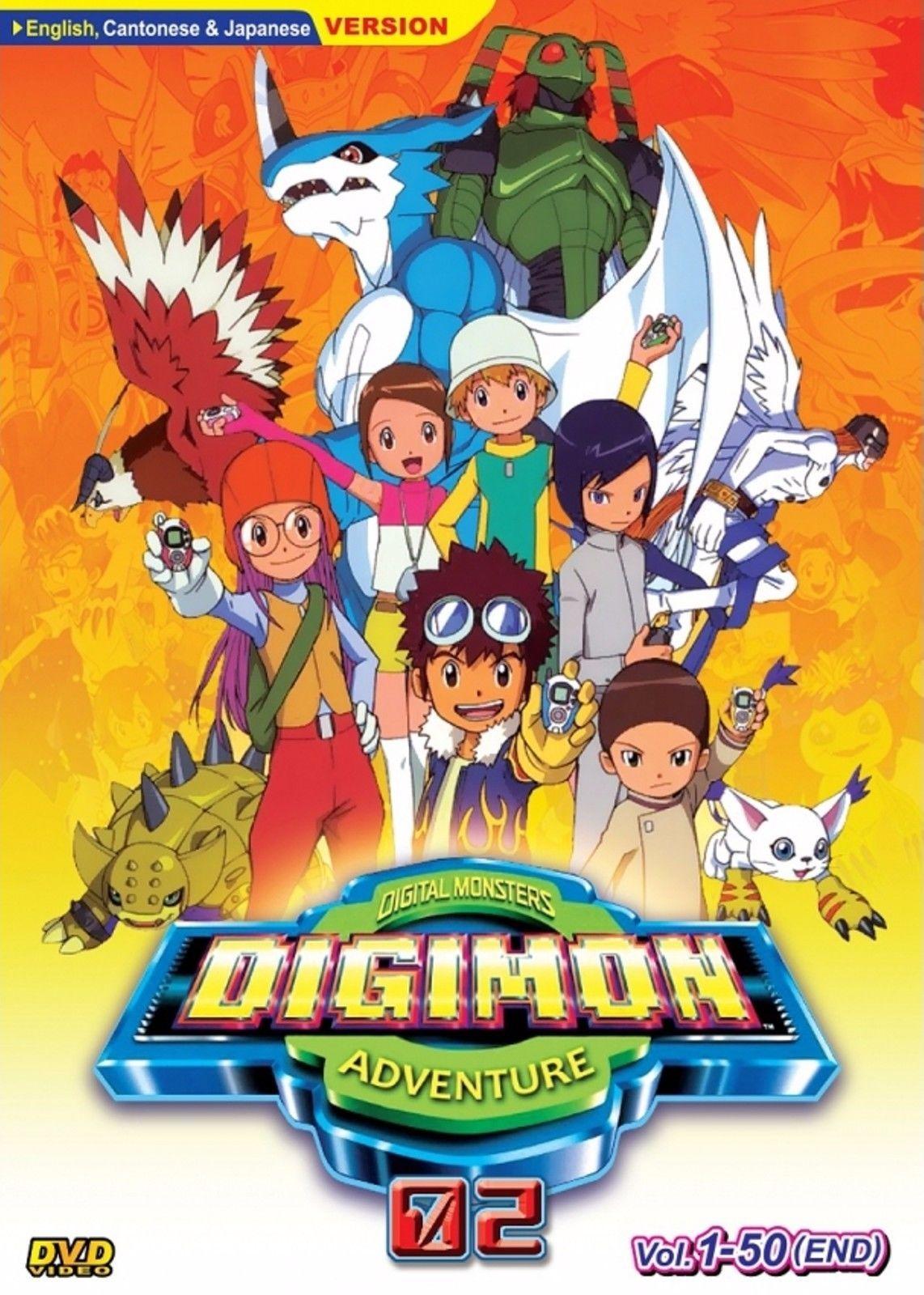 Anime DVD DIGIMON ADVENTURE 02 VOL.150 END Japan