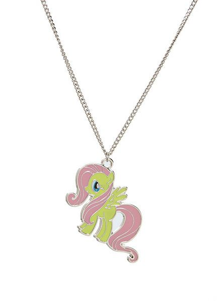 My little pony fluttershy necklace hot topic jewlery pinterest my little pony fluttershy necklace aloadofball Gallery