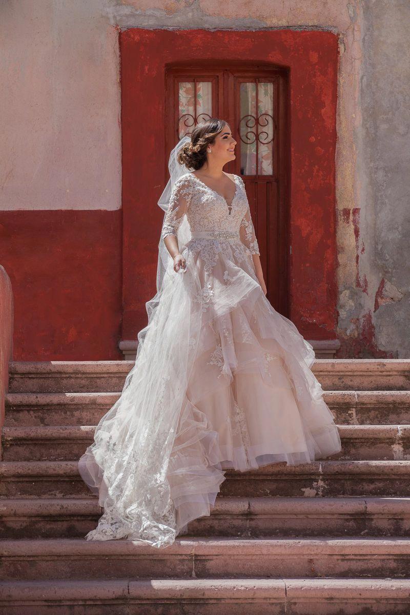 Essense of australia d2186 12 wedding dress long sleeve