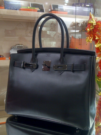 The So Black Birkin Box 30cm  e964f4490e64c