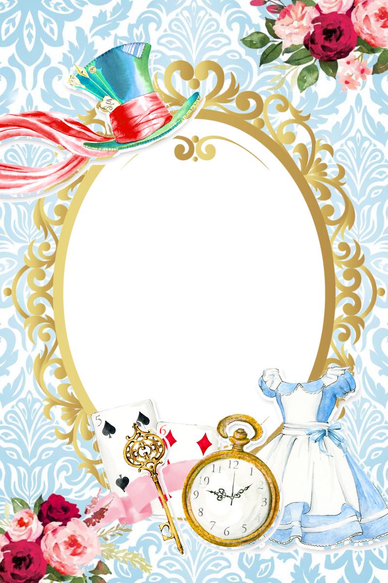 Alice Molde Alice No Pais Das Maravilhas Alice E