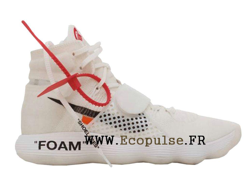meet d2432 f8955 Nouveau Off-White x Nike Hyperdunk 2018 Prix Chaussure de BasketBall Pas  Cher Pour Homme