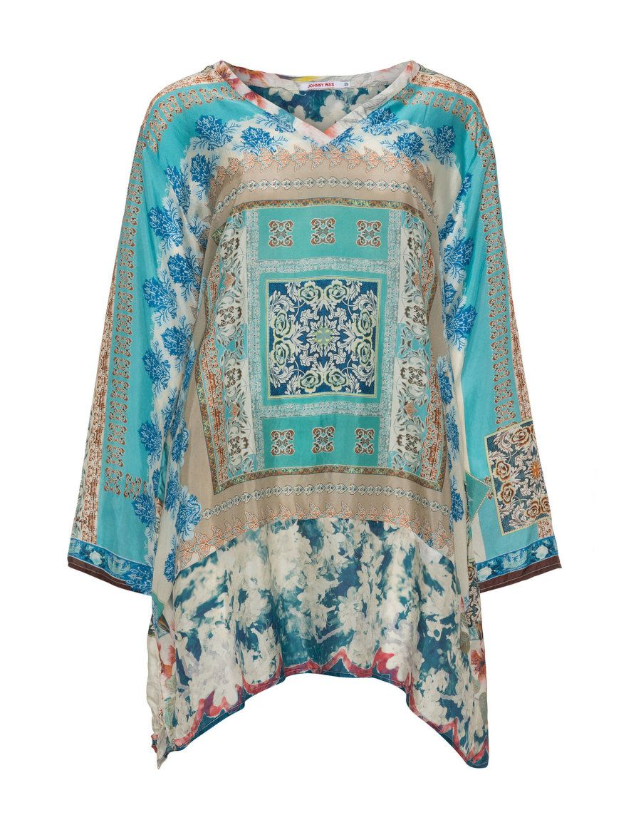 Printed tunic  by Johnny Was. Shop now