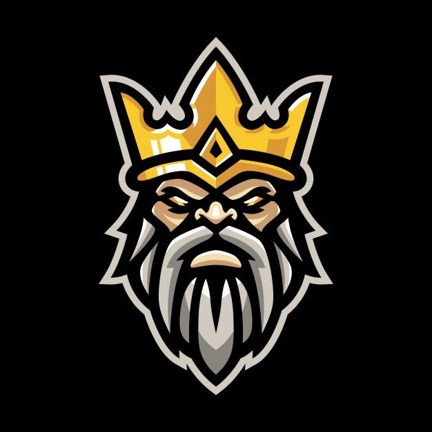 King Mascot Logo in 2020 Logos, Symbol design, Vector photo
