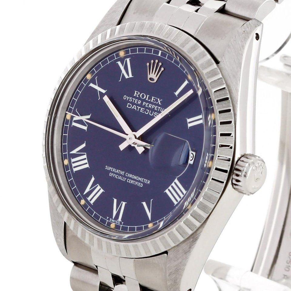 23871294166cb Rolex Oyster Perpetual Datejust 36 Edelstahl Ref. 16030