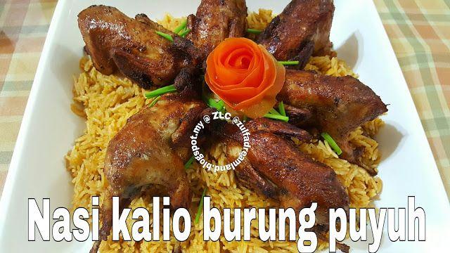 Zulfaza Loves Cooking Nasi Kalio Burung Puyuh Burung Puyuh Makanan Memasak