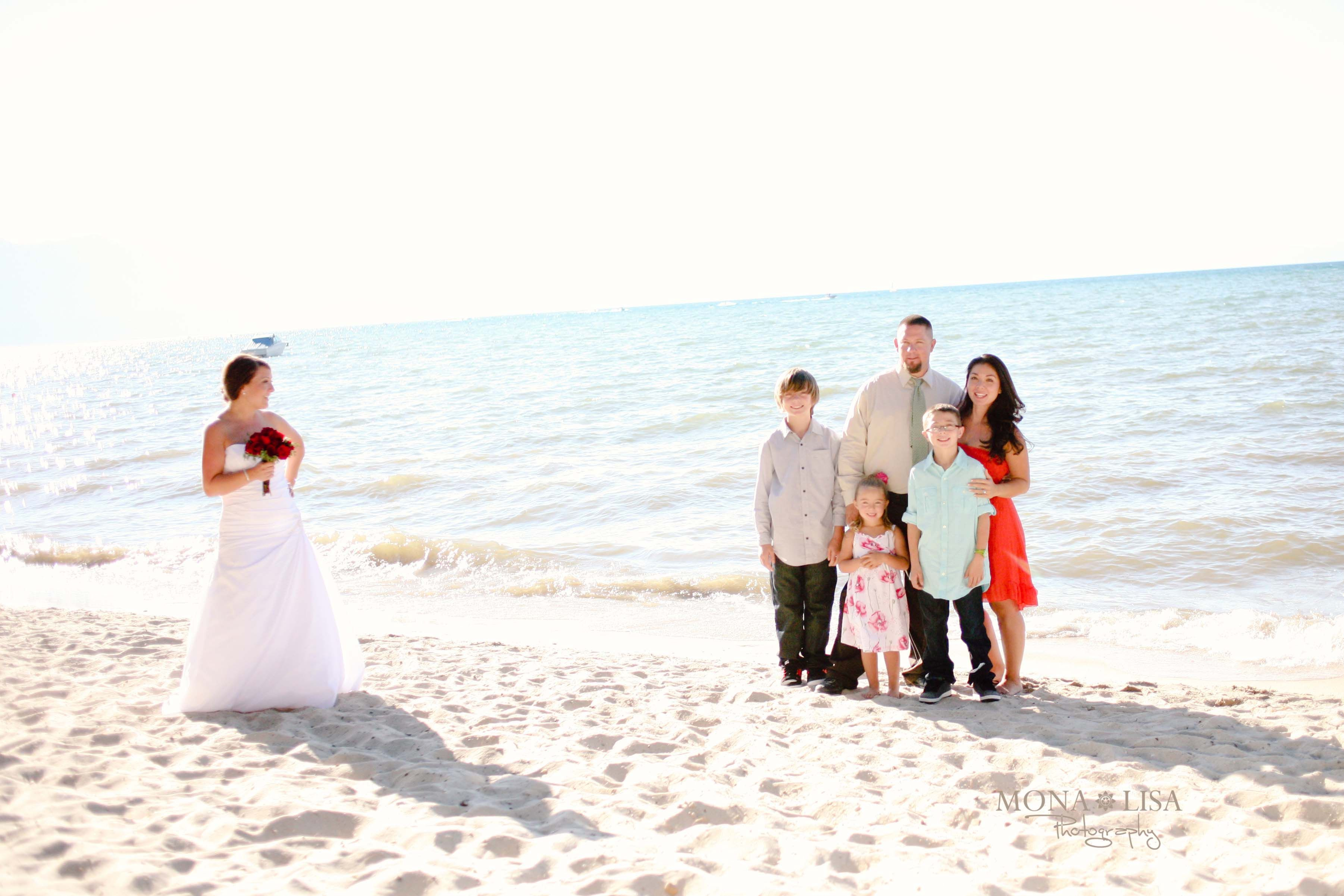 Wedding photo highjackers! LOL