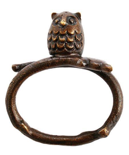 Owl Napkin Ring - Set of 12