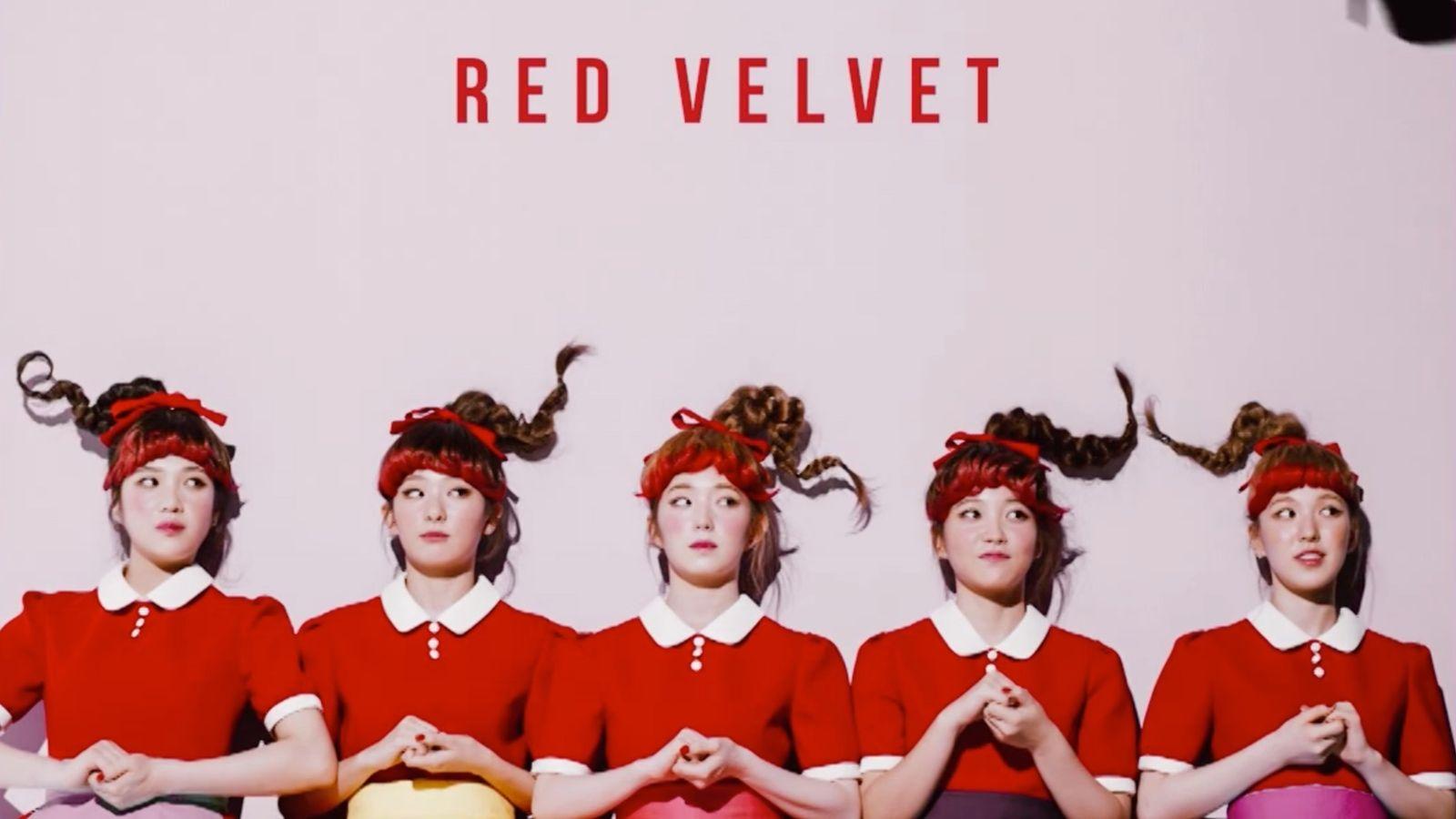 Red Velvet Reveals Member Concept Images Teaser Video 3 For Dumb Dumb Red Velvet Velvet Velvet Wallpaper
