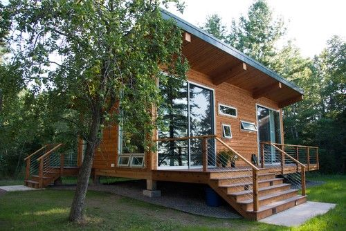Tiny House On Lake Superior No Foundation Cabin Is 12 X 36 One Bedroom One Full Bath Cottage House Plans Small Cabin Designs Country Cottage House Plans