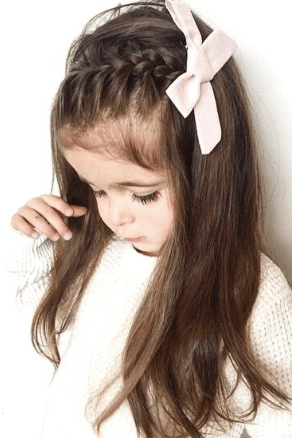 22 Easy And Adorable Toddler Girl Hairstyles For Medium To Long Hair Just Simply Mom In 2020 Little Girl Hairstyles Braided Hairstyles Toddler Hairstyles Girl