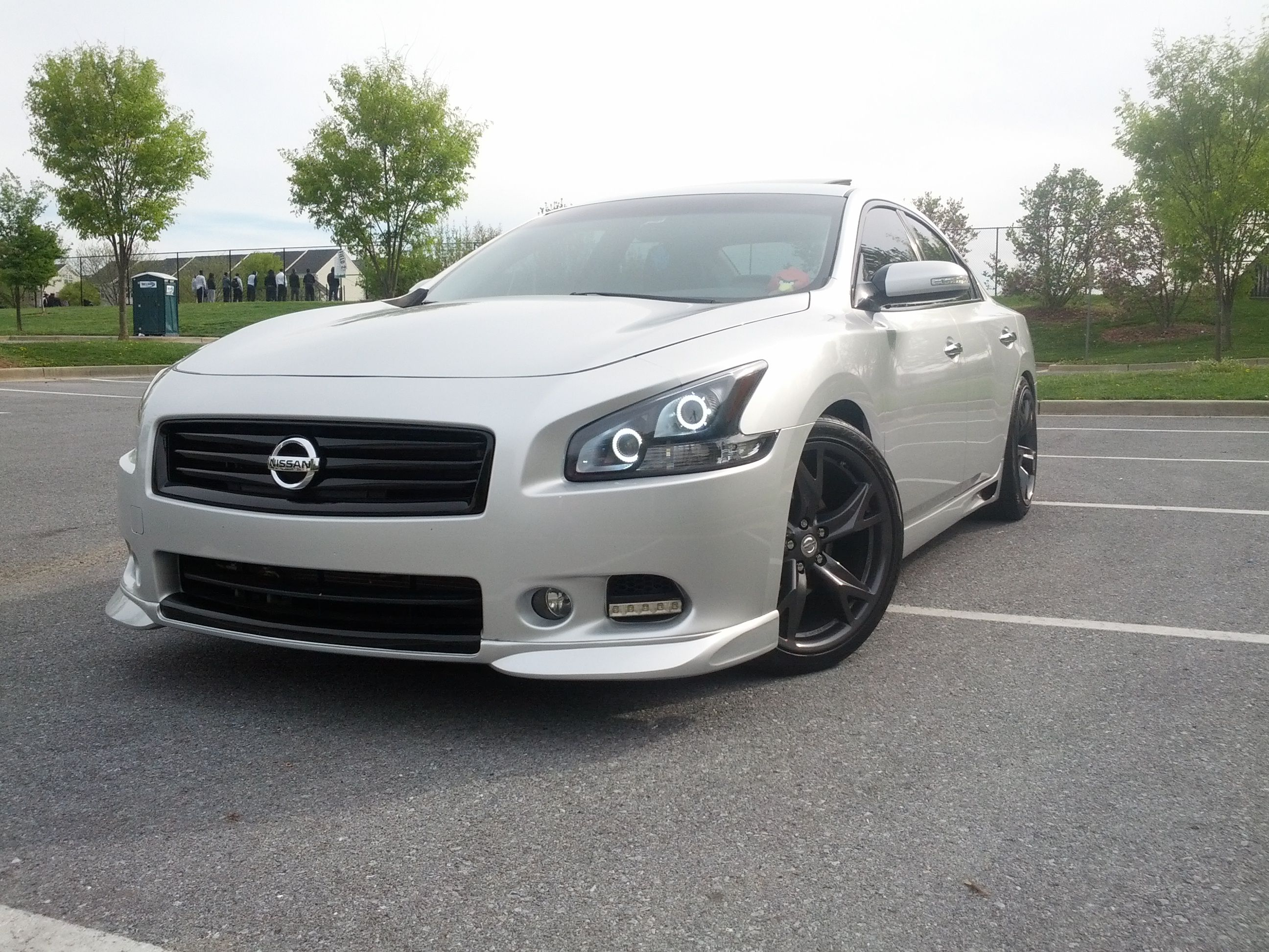 Nissan maxima maxima pinterest nissan maxima nissan and cars black upper lower grills vanachro Image collections