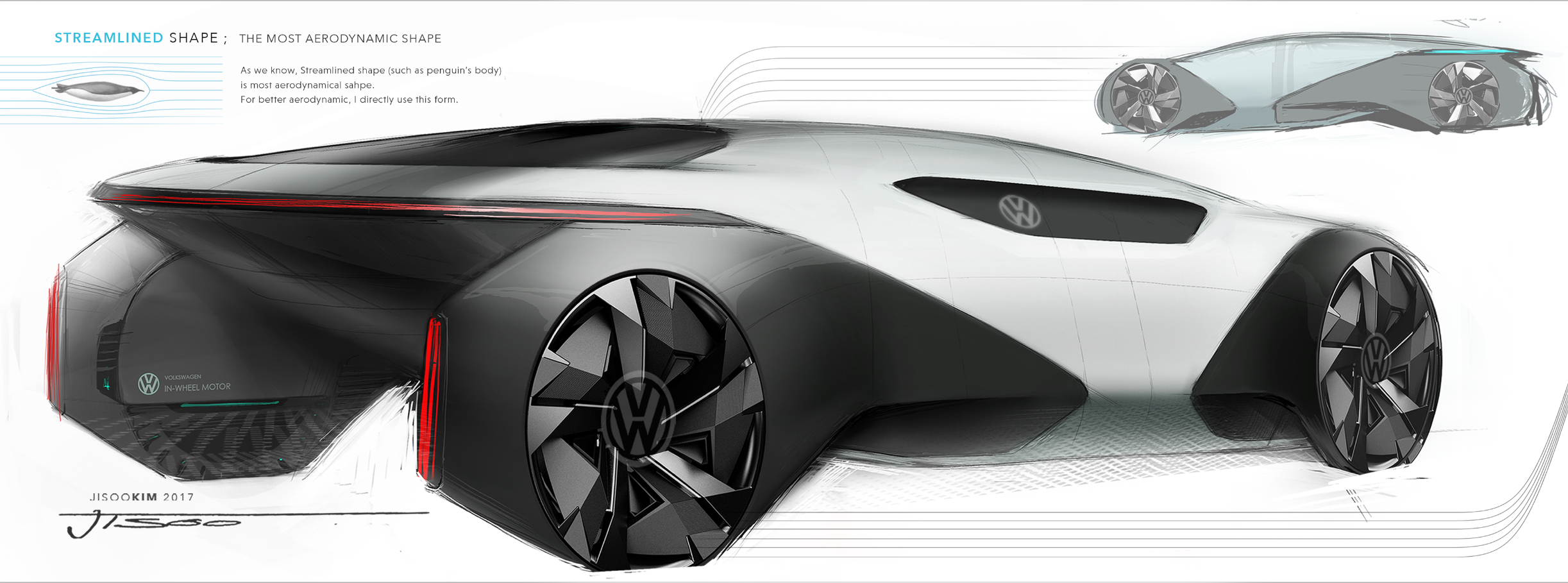 Inteligentny jisoo kim on Behance | Automotive sketches collection | Automotive NG96