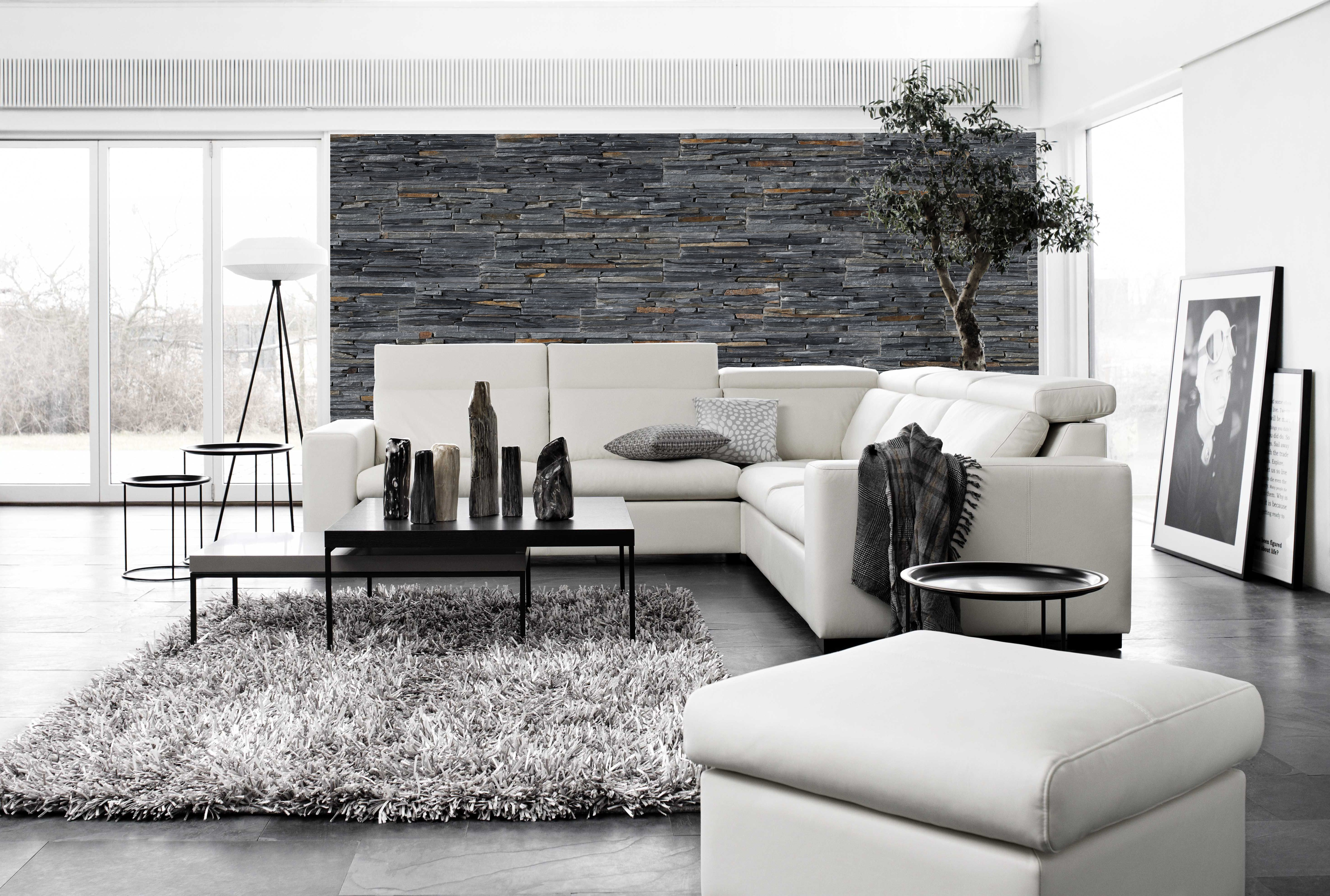 Stonepanel laja negra paneles de piedra natural para la decoraci n de tu hogar stonepanel - Paneles de piedra natural ...