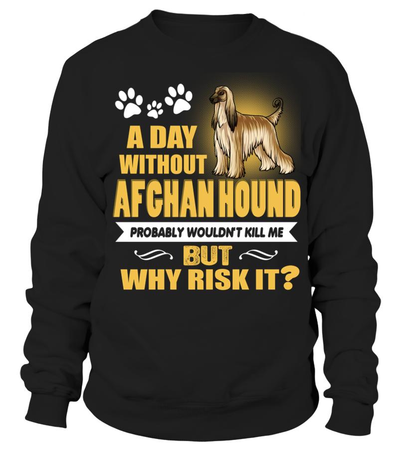 Ein Tag ohne Afghan Hound Hund