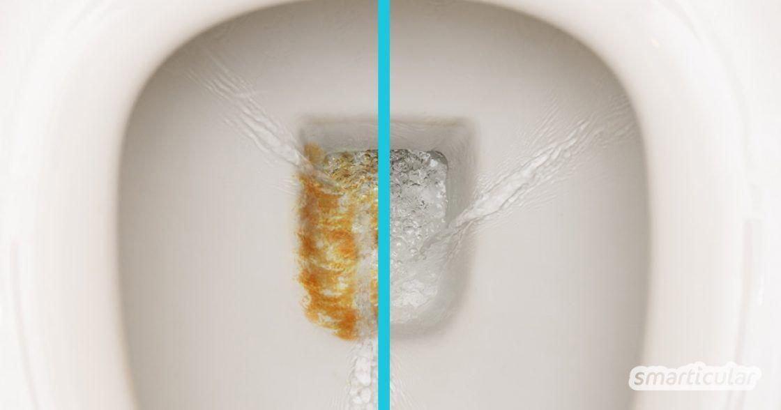 Urinstein Effektiv Entfernen Mit Hausmitteln So Bleibt Das Wc