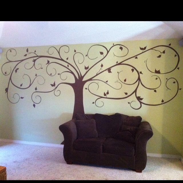 Tree mural mio Pinterest Árboles, Colores y Habitaciones