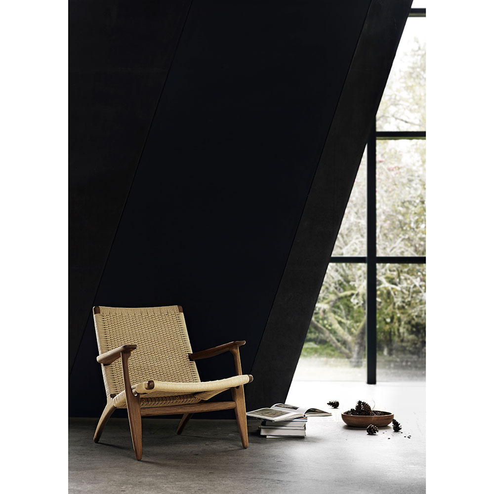 Photo of CH25 Easy Chair – White Oil Oak – Rouse Home