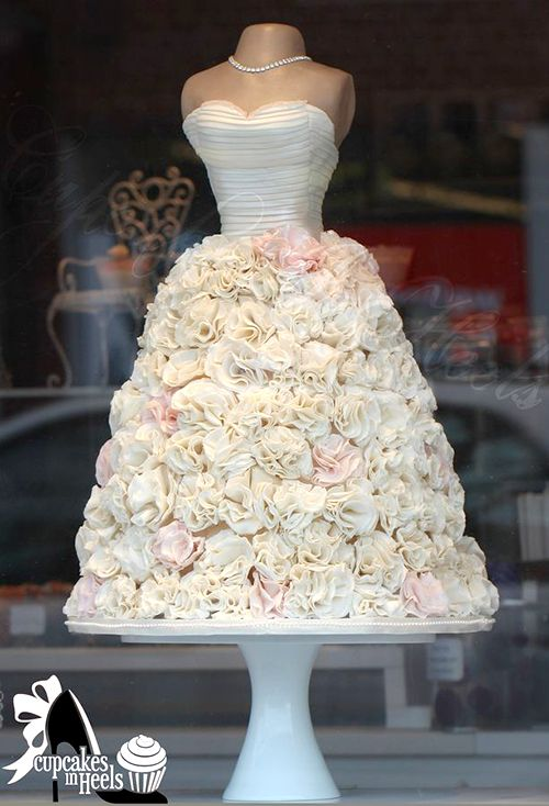 Wedding Shower Dress Cake | Bridal Shower Cakes never have to be ...