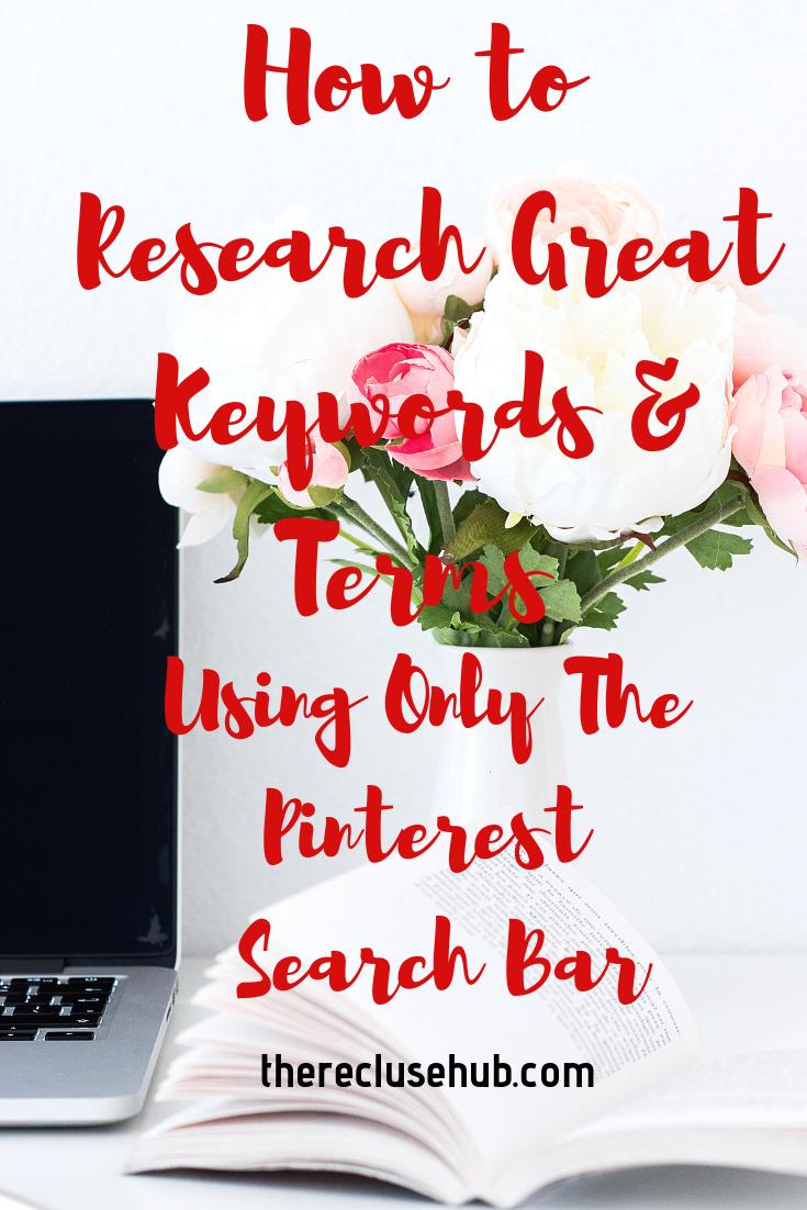 pinterest // pinterest keywords // keywords // keyword
