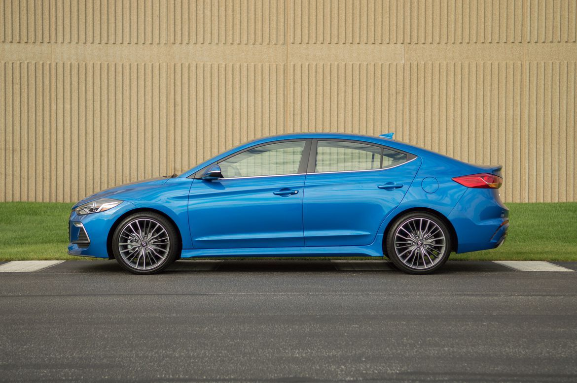 The 2017 Hyundai Elantra Sport makes a good sedan better