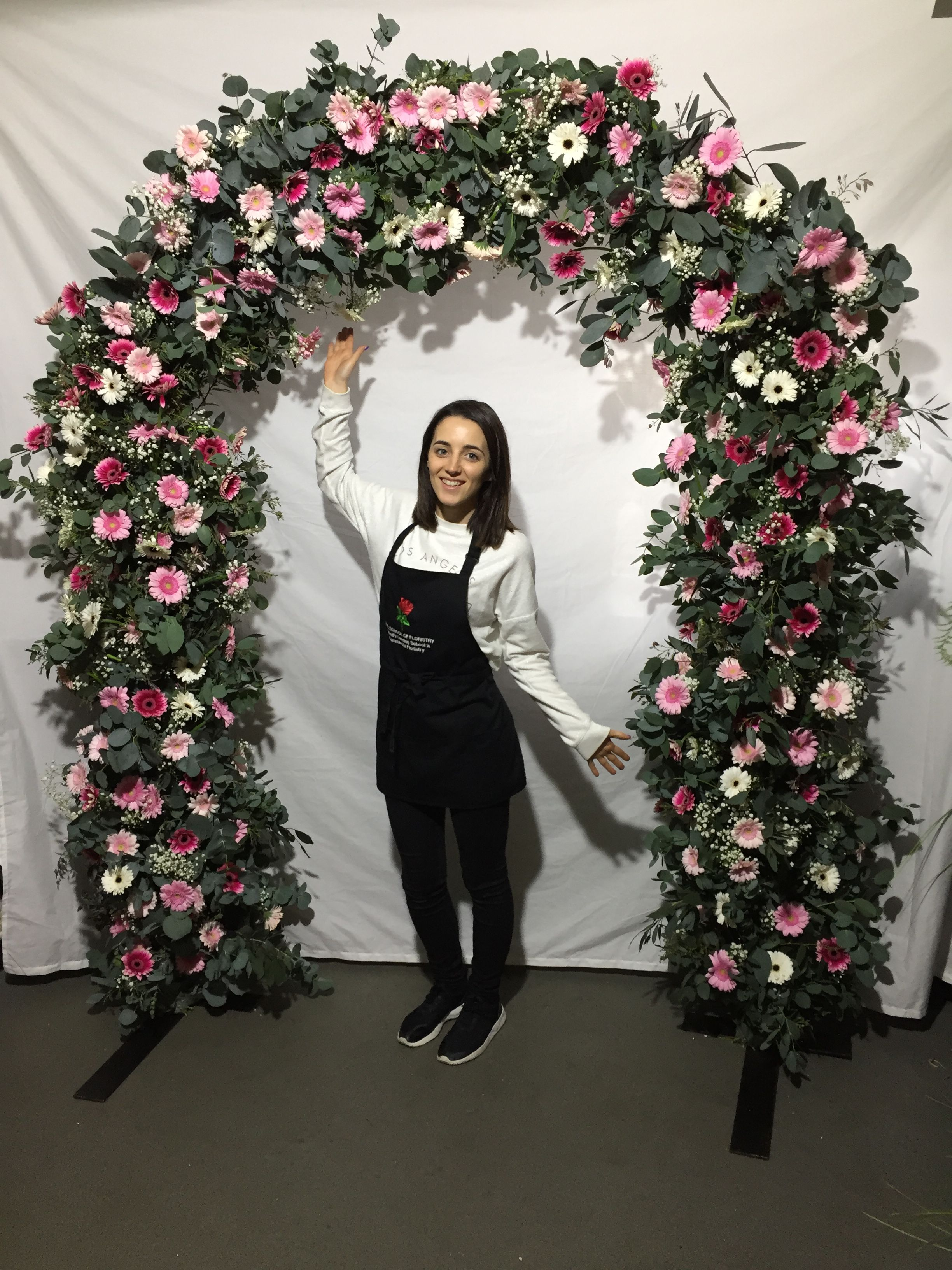 Floral Arches by Kay's Flower School | Floral arch ...