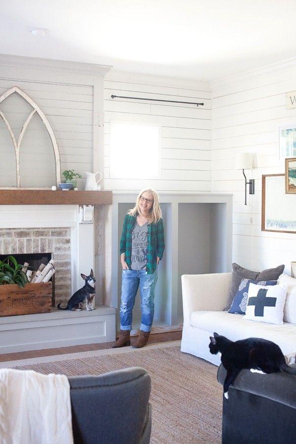 Living Room Farmhouse The Lettered