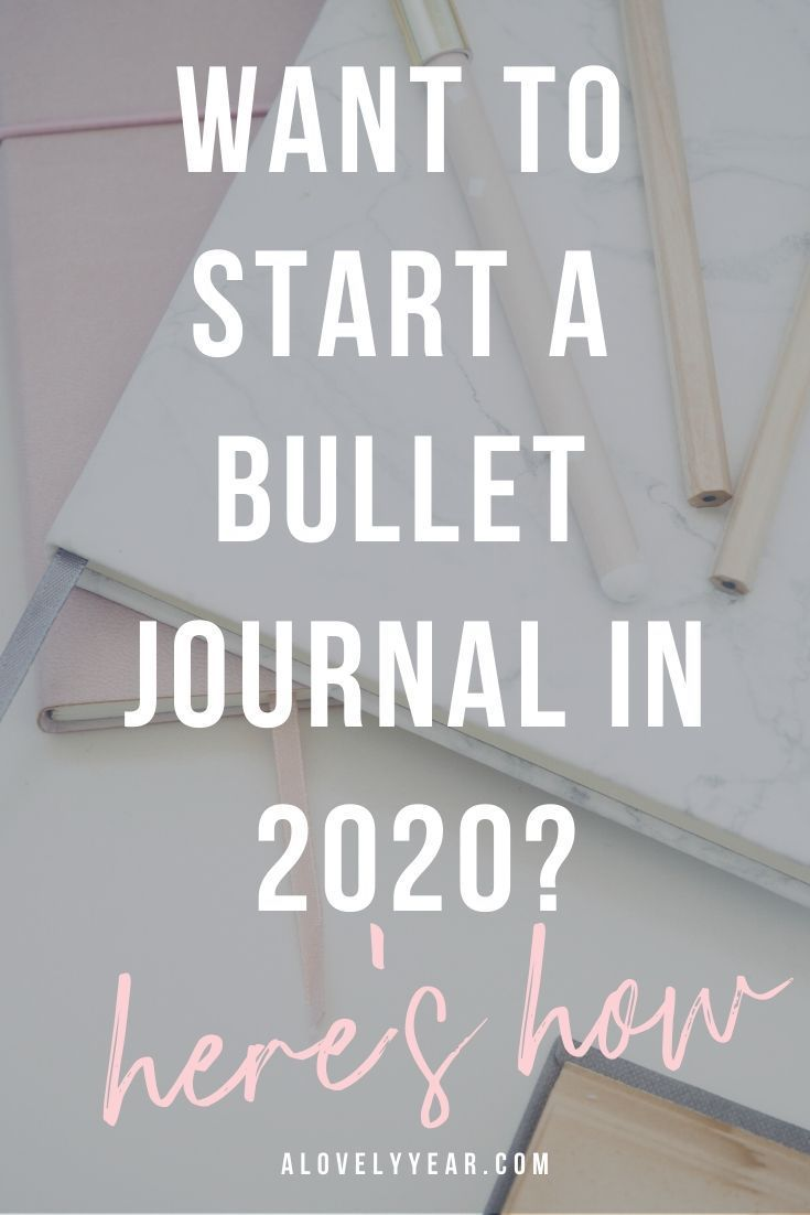 How to Start a Bullet Journal in 2020 (Step-by-Step)