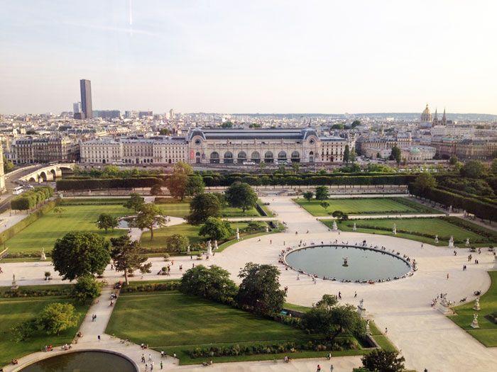 F te foraine des tuileries vue du jardin des tuileries du haut de la grande roue paris - Jardin des tuileries fete foraine ...