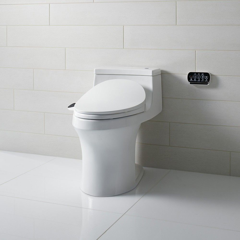 c®  toilet seat with bidet functionality  profile design  - the c®  toilet seat with bidet functionality offers a lowprofiledesign that