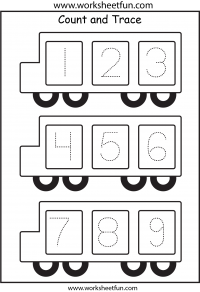School bus count and trace | August | Pinterest | Mathe ...