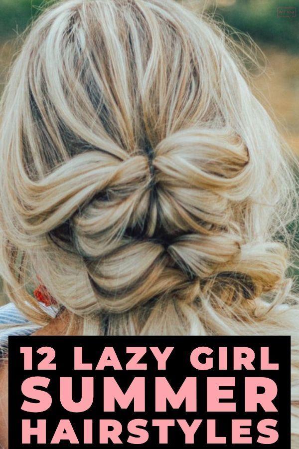 5 Minute Summer Hairstyles Step By Step: 12 Easy Summer Hair Tutorials