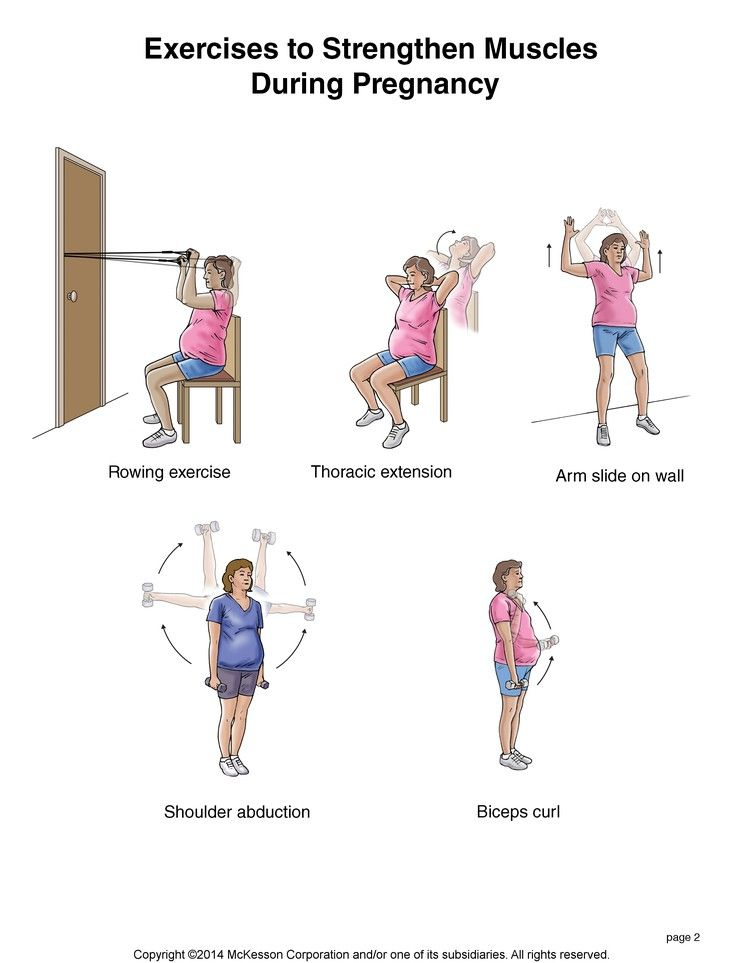 Summit Medical Group - Exercises to Strengthen Muscles During Pregnancy