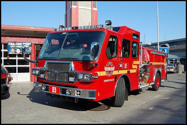 Seattle Fire Department Engine 5 | Fire Trucks | Fire trucks