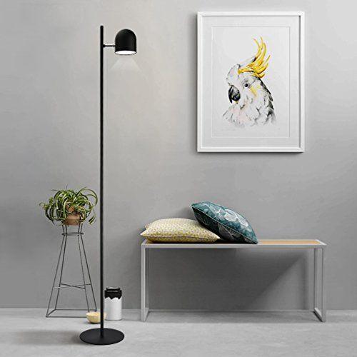 Tonffi Einzelkopf dimmbar Stehlampe LED Standleucht 6W 40   - led leuchten wohnzimmer