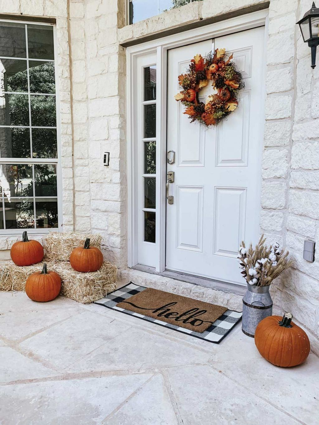 Fall Front Porch Decor from Walmart Fall front porch