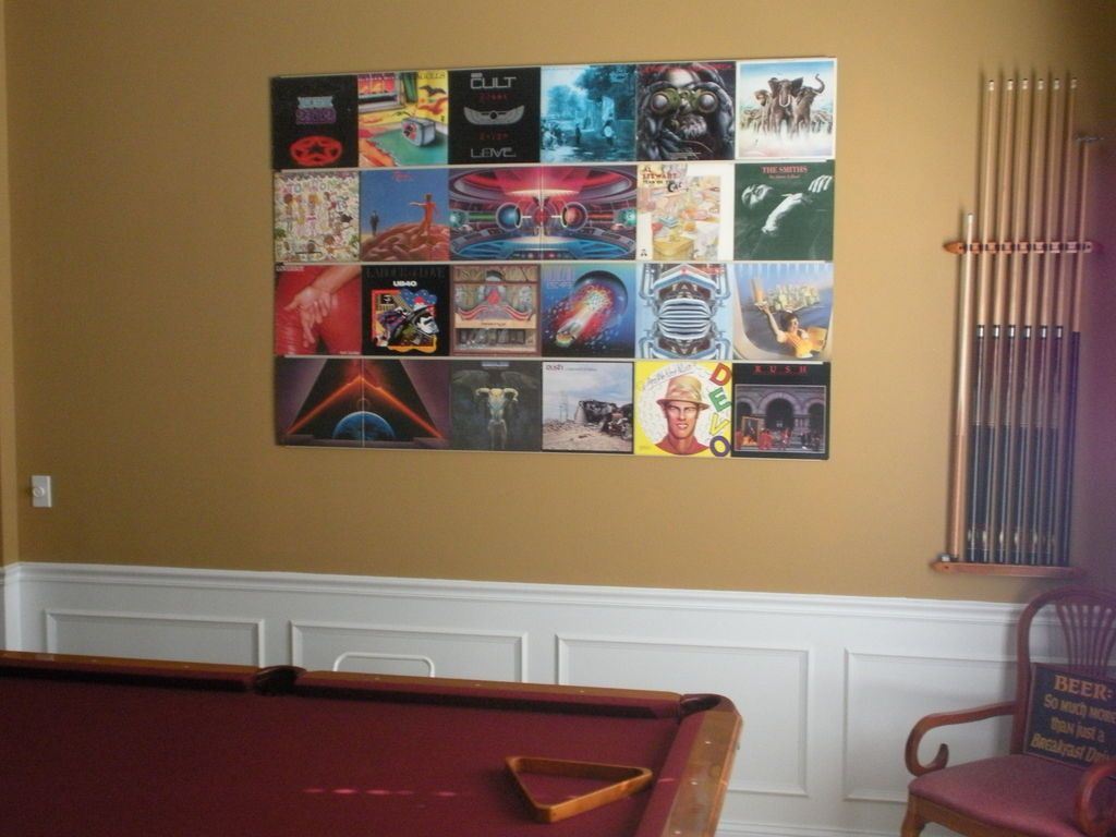 Hang Up Your Old Vinyl Records Vinyl Records Vinyl