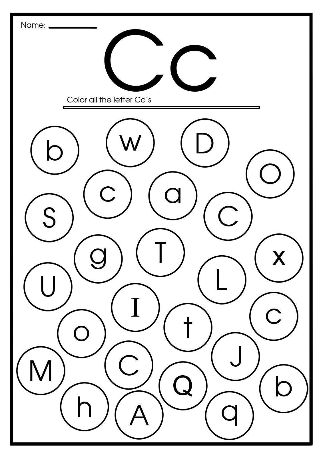 16 Find The Letter Worksheets In 2020 Letter G Worksheets Letter C Worksheets Letter O Worksheets