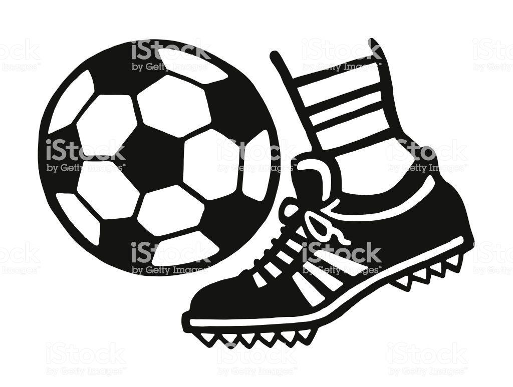 Foot Kicking A Soccer Ball Soccer Ball Soccer Kicks