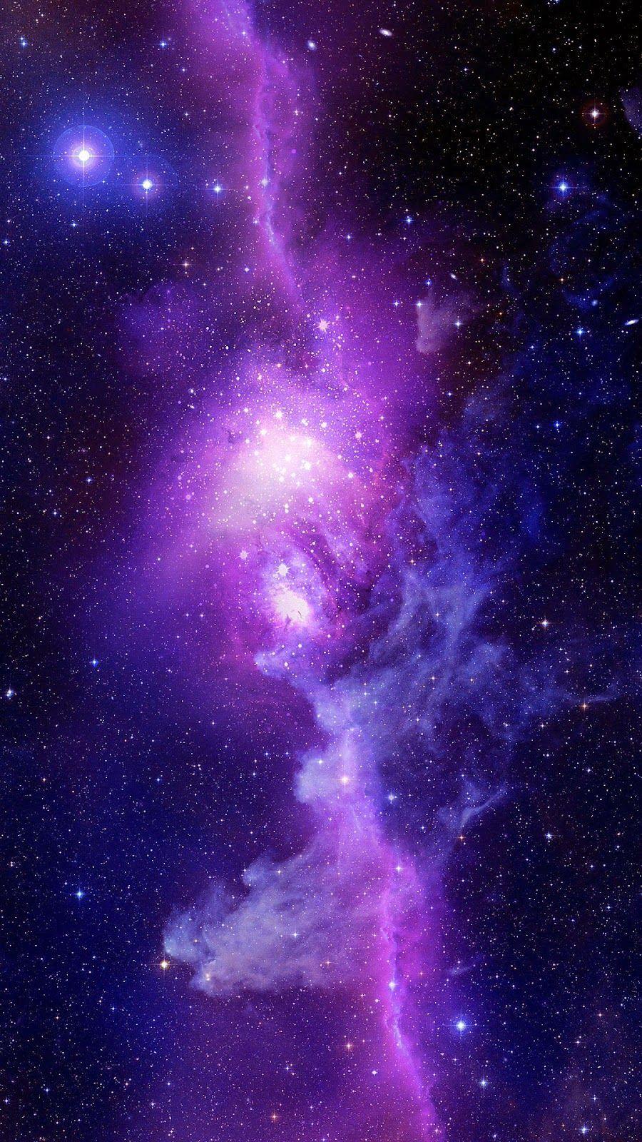 ギャラクシー Galaxyで幻想的なスマホ壁紙 待ち受け宇宙空神秘 宇宙 壁紙 紫色の壁紙 銀河