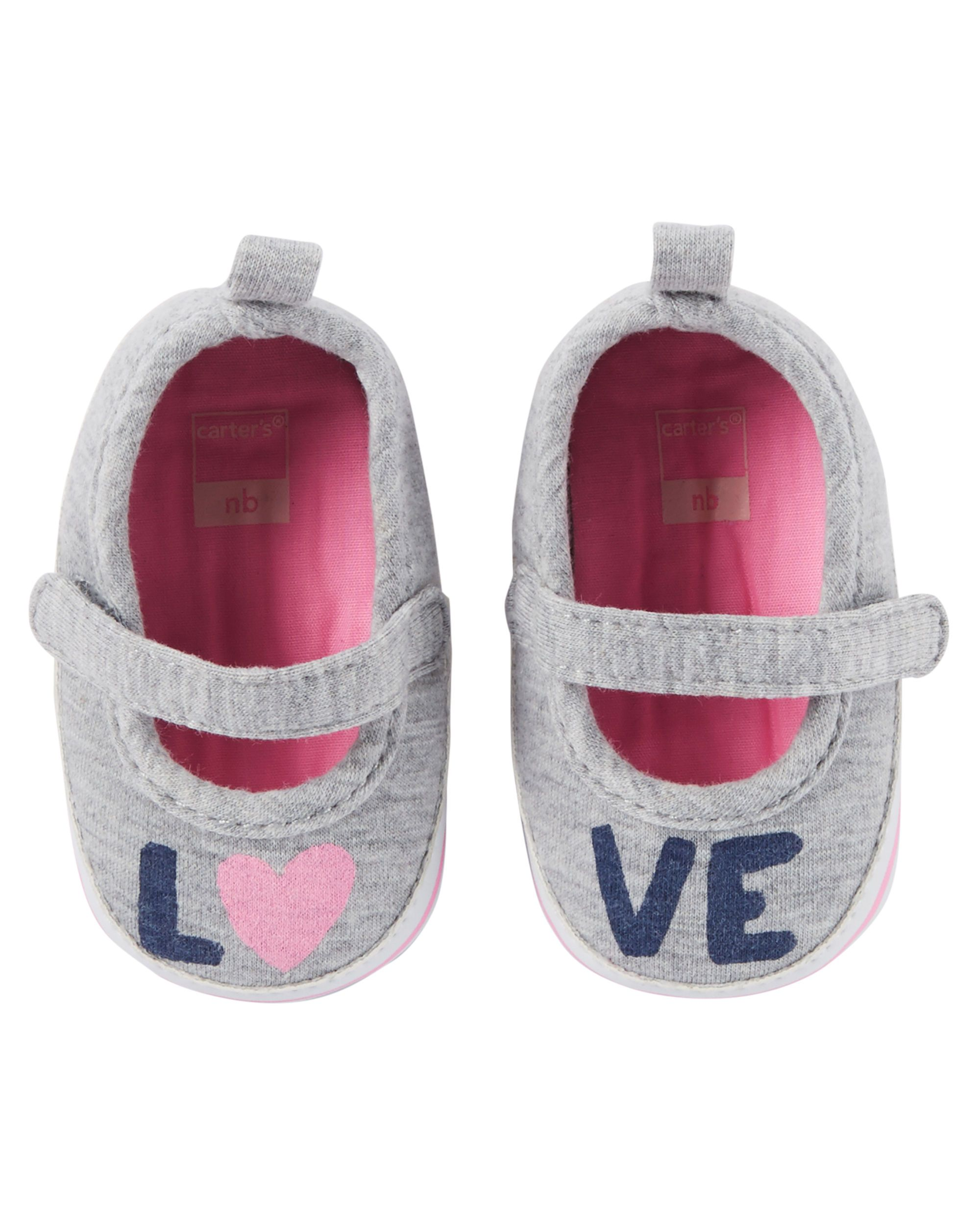 Mary Jane Sneaker Crib Shoes